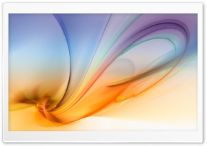 Abstract Aurora Purple And Orange HD Wide Wallpaper for Widescreen