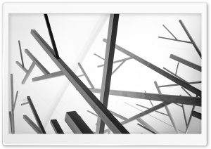 Abstract Black And White HD Wide Wallpaper for 4K UHD Widescreen desktop & smartphone