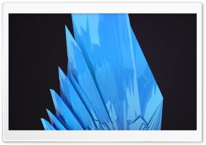 Abstract Blue Structure HD Wide Wallpaper for Widescreen