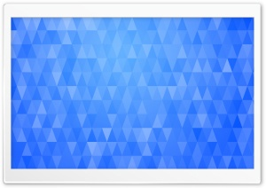 Abstract Christmas Trees Blue Triangles Background Ultra HD Wallpaper for 4K UHD Widescreen desktop, tablet & smartphone