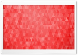 Abstract Christmas Trees Red Triangles Background HD Wide Wallpaper for 4K UHD Widescreen desktop & smartphone