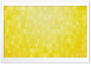 Abstract Christmas Trees Yellow Triangles Background HD Wide Wallpaper for 4K UHD Widescreen desktop & smartphone