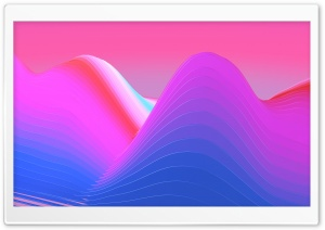 Abstract Color Wave Background Ultra HD Wallpaper for 4K UHD Widescreen desktop, tablet & smartphone
