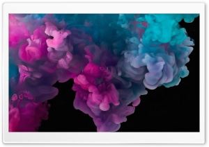 Abstract Colorful Smoke HD Wide Wallpaper for Widescreen