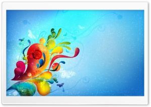 Abstract Corner HD Wide Wallpaper for Widescreen