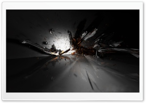Abstract Explosion HD Wide Wallpaper for Widescreen