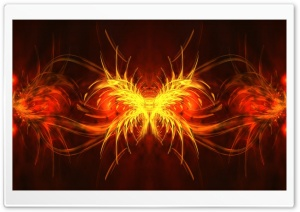Abstract Fire HD Wide Wallpaper for Widescreen