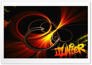 Abstract Fire Background HD Wide Wallpaper for Widescreen
