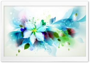 Abstract Flower HD Wide Wallpaper for Widescreen