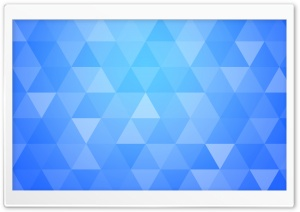 Abstract Geometric Triangle Background Blue Shades HD Wide Wallpaper for 4K UHD Widescreen desktop & smartphone