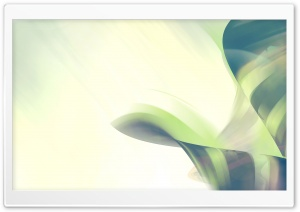 Abstract Green Art HD Wide Wallpaper for Widescreen