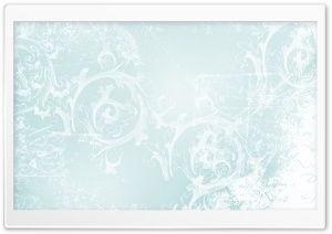 Abstract Ice Flowers HD Wide Wallpaper for Widescreen