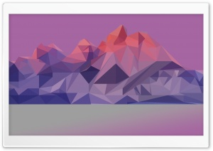 Abstract Mountains HD Wide Wallpaper for Widescreen