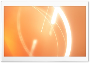 Abstract Orange Light HD Wide Wallpaper for Widescreen