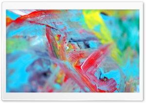 Abstract Painting HD Wide Wallpaper for Widescreen