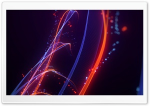Abstract Particles HD Wide Wallpaper for Widescreen