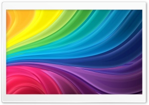Abstract Rainbow Flow HD Wide Wallpaper for Widescreen