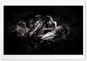 Abstract Snake HD Wide Wallpaper for Widescreen