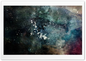 Abstract Space HD Wide Wallpaper for Widescreen
