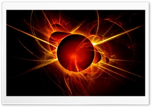 Abstract Sun HD Wide Wallpaper for Widescreen