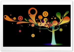 Abstract Tree HD Wide Wallpaper for Widescreen