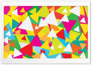 Abstract Triangles Design Ultra HD Wallpaper for 4K UHD Widescreen desktop, tablet & smartphone