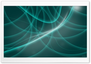 Abstract Turquoise Lines HD Wide Wallpaper for Widescreen