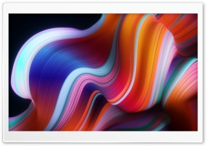 Abstract Wave Design HD Wide Wallpaper for 4K UHD Widescreen desktop & smartphone