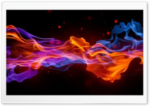 Abstraction Fire HD Wide Wallpaper for Widescreen