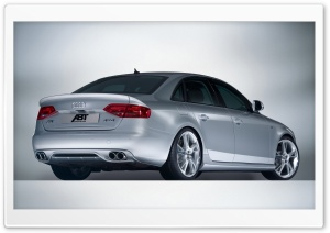 ABT AS4 Sedan B8 8E Car HD Wide Wallpaper for Widescreen