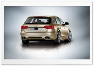 ABT Audi AS4 Avant Car 3 HD Wide Wallpaper for Widescreen