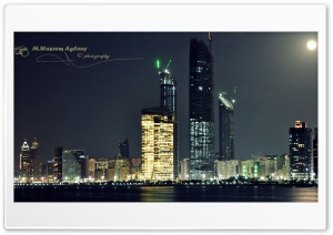 Abu Dhabi HD Wide Wallpaper for Widescreen