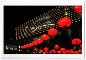 Abu Dhabi Chinese New Year HD Wide Wallpaper for Widescreen