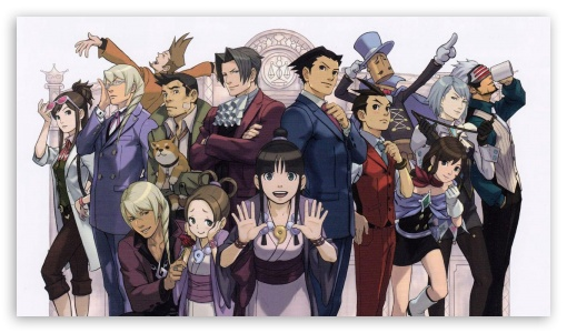 Ace Attorney 3 Ultra Hd Desktop Background Wallpaper For 4k Uhd Tv