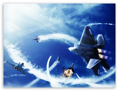 Ace Combat Infinity Jet Battle Ultra Hd Desktop Background