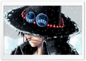 Ace One Piece HD Wide Wallpaper for Widescreen