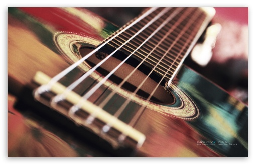 Acoustic Guitar 4k Hd Desktop Wallpaper For 4k Ultra Hd Tv Wide