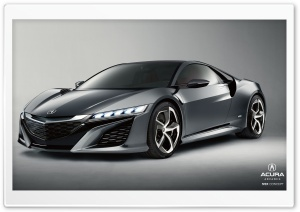 Acura NSX HD Wide Wallpaper for 4K UHD Widescreen desktop & smartphone