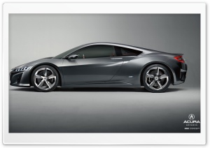 Acura NSX HD Wide Wallpaper for Widescreen