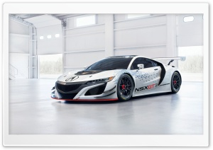 Acura NSX GT3 Ultra HD Wallpaper for 4K UHD Widescreen desktop, tablet & smartphone