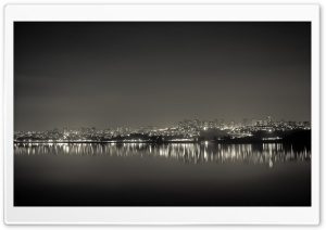 Adana City Reflection HD Wide Wallpaper for Widescreen