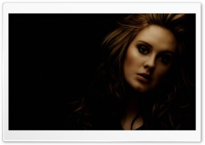 Adele HD Wide Wallpaper for Widescreen