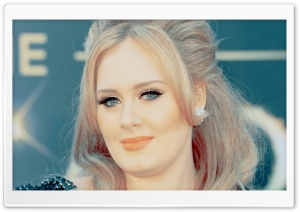 Adele HD Wide Wallpaper for Widescreen