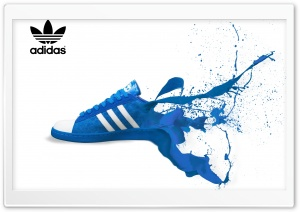 Adidas Shoe Ad HD Wide Wallpaper for Widescreen