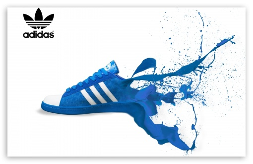 Download Adidas Shoe Ad HD Wallpaper