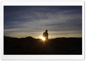 Admiring the Sunrise HD Wide Wallpaper for Widescreen