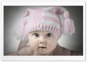 Adorable Little Baby HD Wide Wallpaper for Widescreen