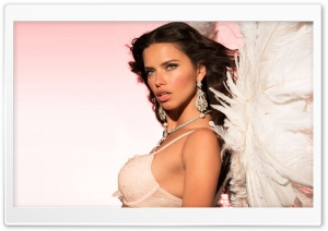 Adriana Lima HD Wide Wallpaper for 4K UHD Widescreen desktop & smartphone