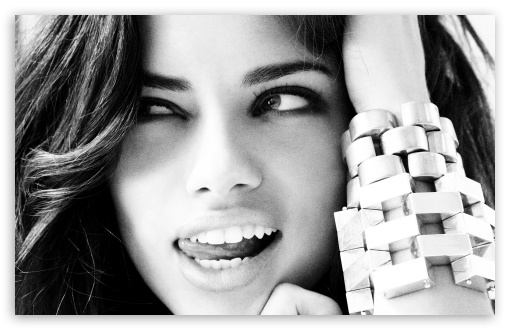 Adriana Lima Black And White HD wallpaper for Wide 16:10 5:3 Widescreen WHXGA WQXGA WUXGA WXGA WGA ; HD 16:9 High Definition WQHD QWXGA 1080p 900p 720p QHD nHD ; Standard 4:3 5:4 3:2 Fullscreen UXGA XGA SVGA QSXGA SXGA DVGA HVGA HQVGA devices ( Apple PowerBook G4 iPhone 4 3G 3GS iPod Touch ) ; iPad 1/2/Mini ; Mobile 4:3 5:3 3:2 16:9 5:4 - UXGA XGA SVGA WGA DVGA HVGA HQVGA devices ( Apple PowerBook G4 iPhone 4 3G 3GS iPod Touch ) WQHD QWXGA 1080p 900p 720p QHD nHD QSXGA SXGA ;