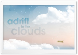 Adrift in the Clouds HD Wide Wallpaper for 4K UHD Widescreen desktop & smartphone